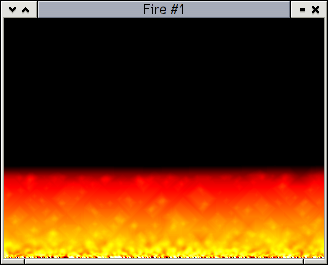 Fire algorithm screenshot